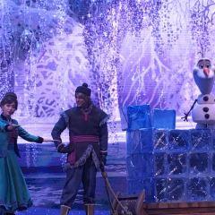 겨울왕국, 뮤지컬 여행 사진