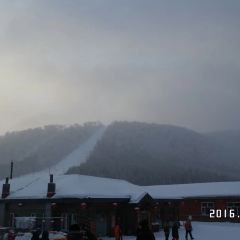 해방군 팔일 눈밭 여행 사진