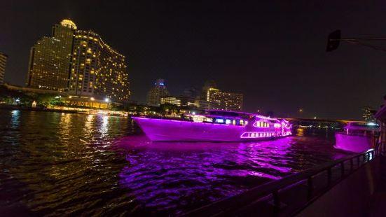 璀璨明珠號夜遊湄南河