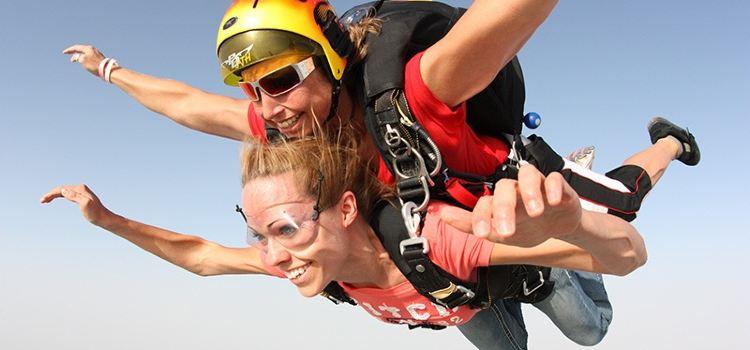 두바이 스카이다이빙 체험2