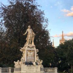 Mozart Denkmal User Photo