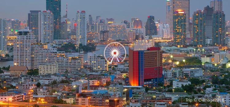 曼谷夜市摩天輪2