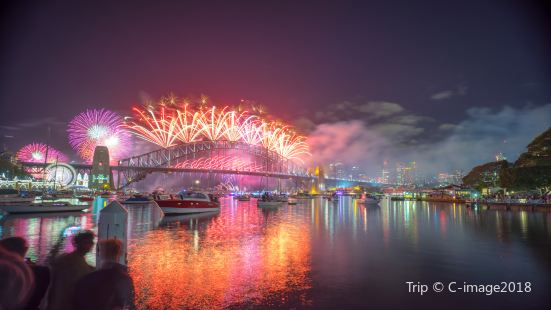 New Year Fireworks Show in Sydney