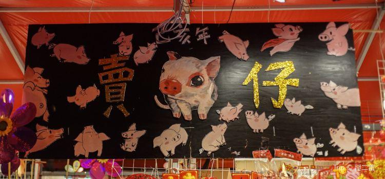 Liwan District Jasmine Flower Market