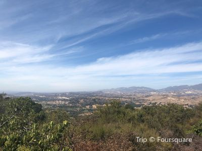 Vista Point Over Santa Ynez Valley
