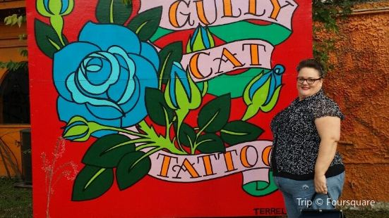 Gully Cat Tattoo