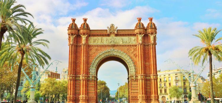 巴塞羅那凱旋門