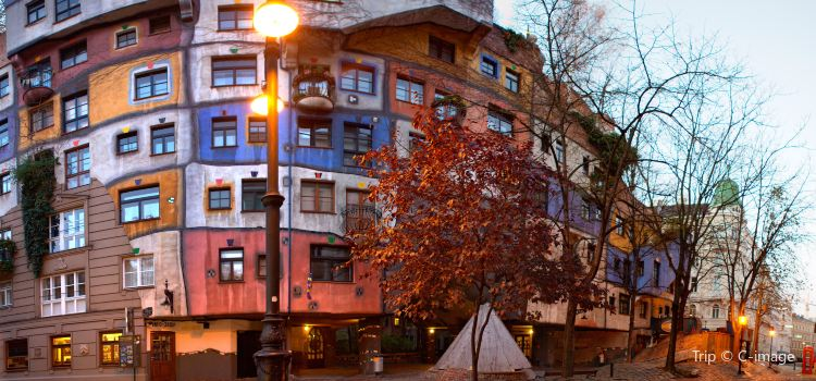 Hundertwasser House Vienna2