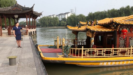 紹興古鑒湖水上游