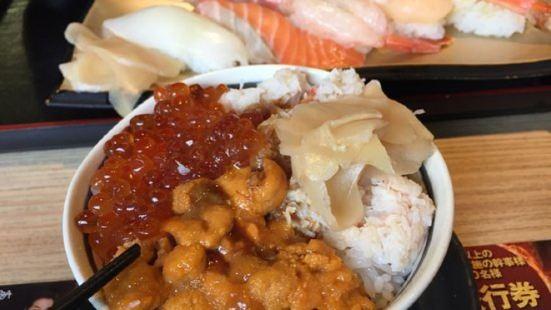 Sushi Zamurai Otaru Sunmall Ichiban Street