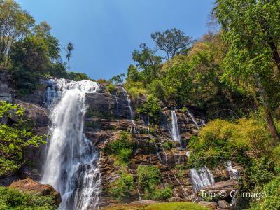 The Wachirathan Waterfall