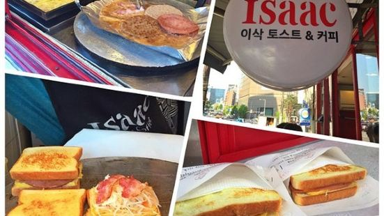 Isaac Toast Myeongdong