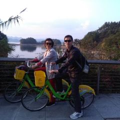 Thousand Island Lake round-the-island cycling User Photo