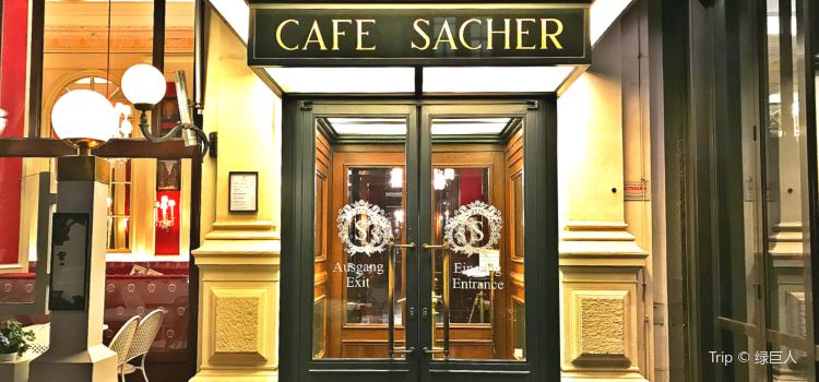 Cafe Sacher Vienna