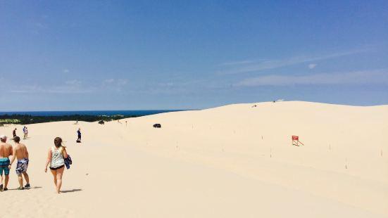 Silver Lake Sand Dunes