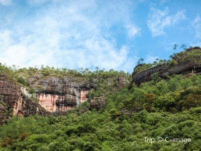 Laojun Mountain Places of Interest