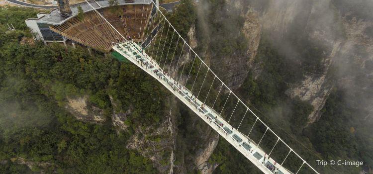 張家界大峡谷玻璃大橋1