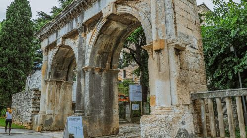 The Twin Gates of Pula