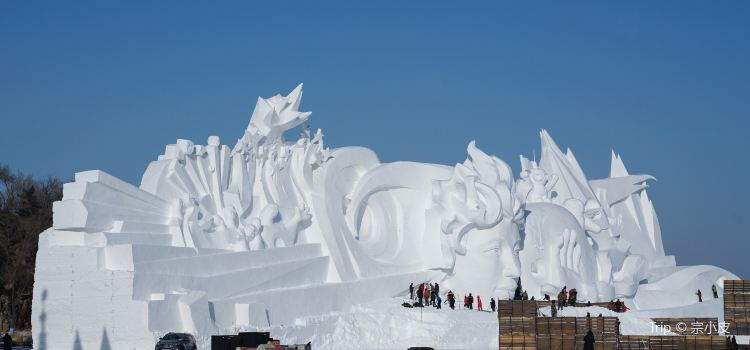 Harbin Exhibition Hall of Arts and Crafts of Ice and Snow1