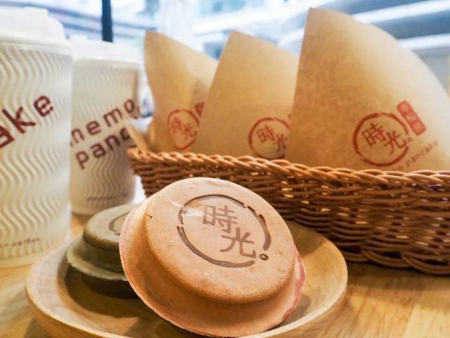 台灣來的爆漿車輪餅,竟然有14種口味!