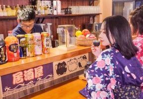 """藏在海甸島の這家日式居酒屋化身""""小島版深夜食堂"""",一秒穿越到日本!許多人打烊了都不想走…"""