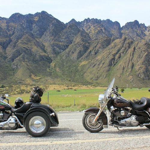 Harley Davidson Chauffeured Passenger Day Tour to Waitomo Glow Worm Caves