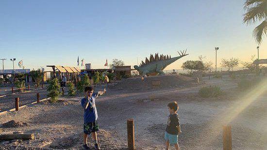 Valle de Los Dinosaurios