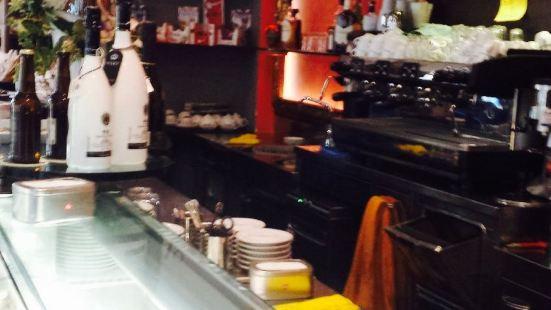 Blak Orange Bar
