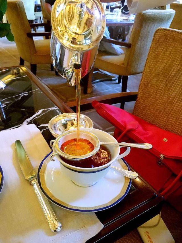 半島酒店大堂茶座