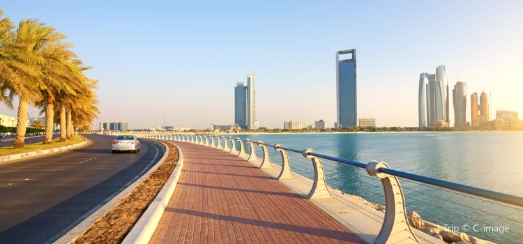 Abu Dhabi Corniche and Breakwater