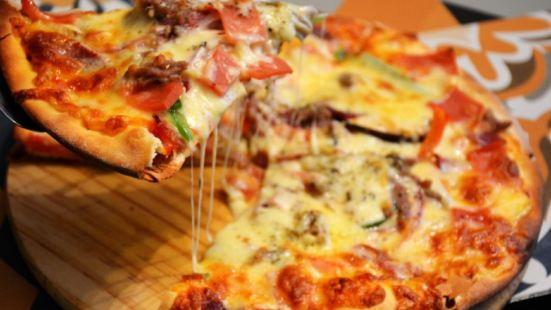 清真巴塞爾薄餅披薩