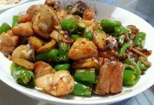 潍坊美食图片-生炒辣子鸡