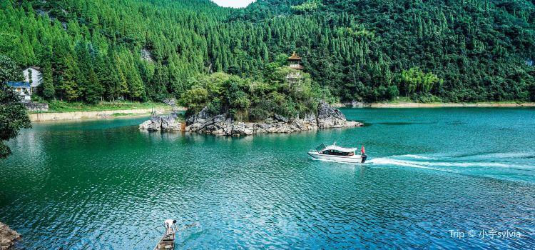 칭런구 관광 지구3