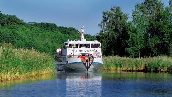 Sandhamn cruise sightseeing