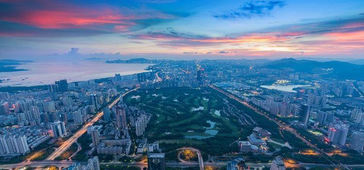 深圳平安金融中心雲際觀光層