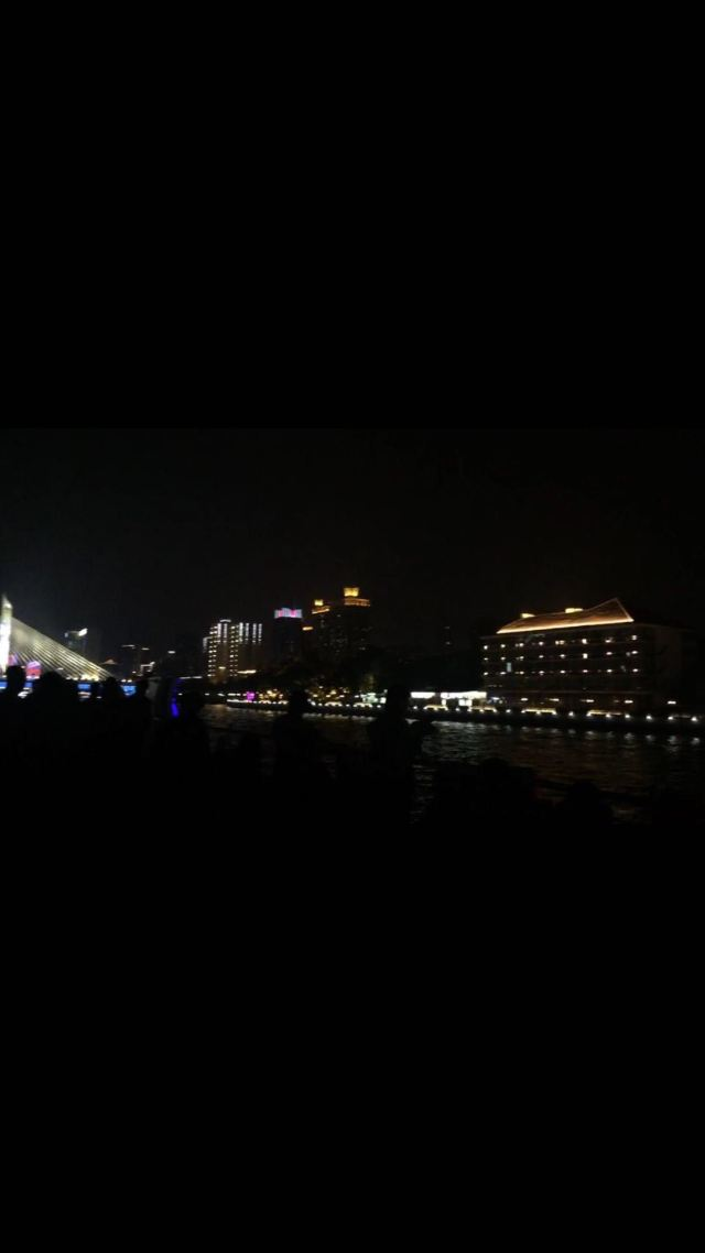 Guangzhou Tower Pier Night Tour