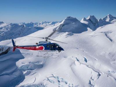 庫克山觀光直升機體驗