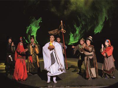 大型佛文化實景演出《菩提·東行》