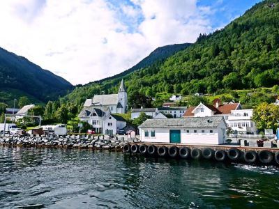 Hardangerfjord bike route