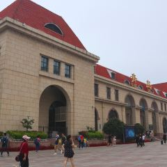 칭다오 기차역 여행 사진