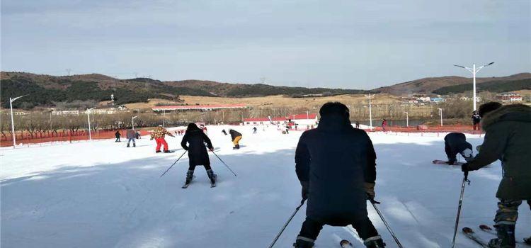 白清寨滑雪場1