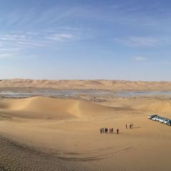 騰格里沙漠天鵝湖用戶圖片