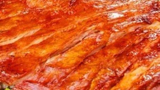 蒙古巴圖魯烤羊腿燒烤