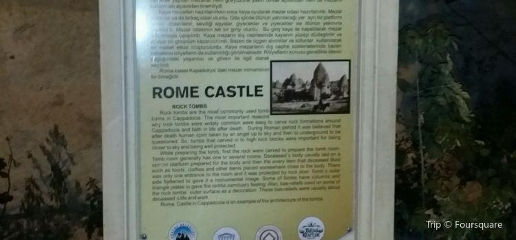 Goreme Roma Kalesi2