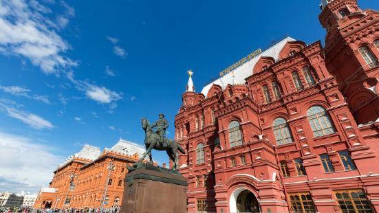 Marshal Zhukov Statue