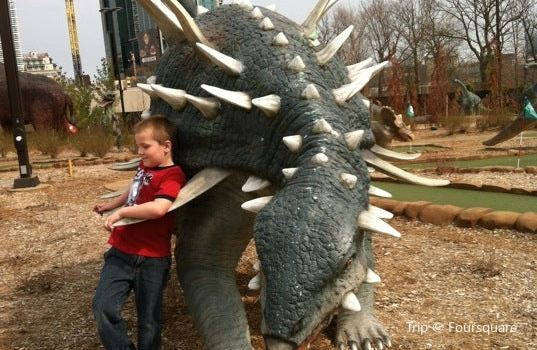 Dinosaur Adventure Golf1