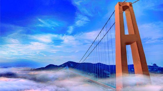 駟馬水鄉玻璃橋景區
