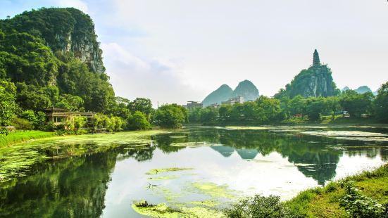 桂林穿山景區