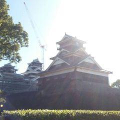구마모토성 여행 사진