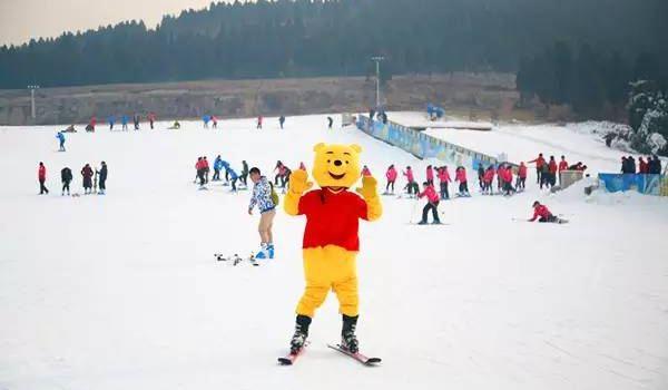 蟠龍山滑雪場1